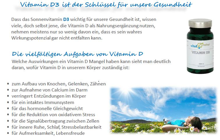 wozu vitamin d3